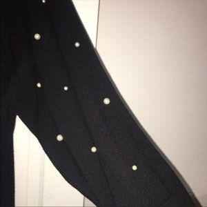 Black sweater with perks ZARA size M